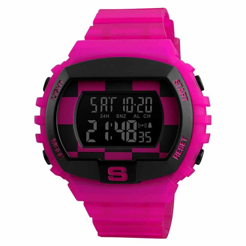 SKMEI עמיד למים ספורט שעון גברים הצעה חיוג צעד לב שיעור רב פונקצית שיחת תזכורת זוהר חכם שעונים Relogio