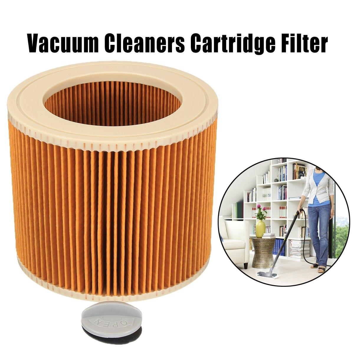 KROAK Car Vacuum Cleaners Cartridge Filter Fit for Karcher A2004 A2054 Vacuum Cleaners Accessories