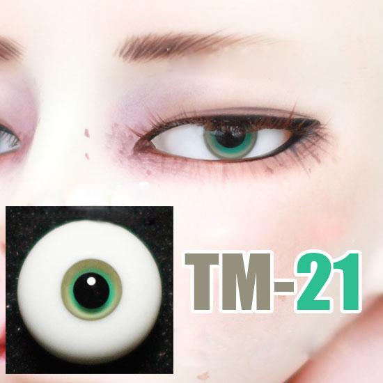 Free Shipping Doll Layered Eyes Small Iris Black Pupil Glass Eyes For 1/3 1/4 1/6 BJD SD MSD Uncle Doll Eyes Accessories TM-21