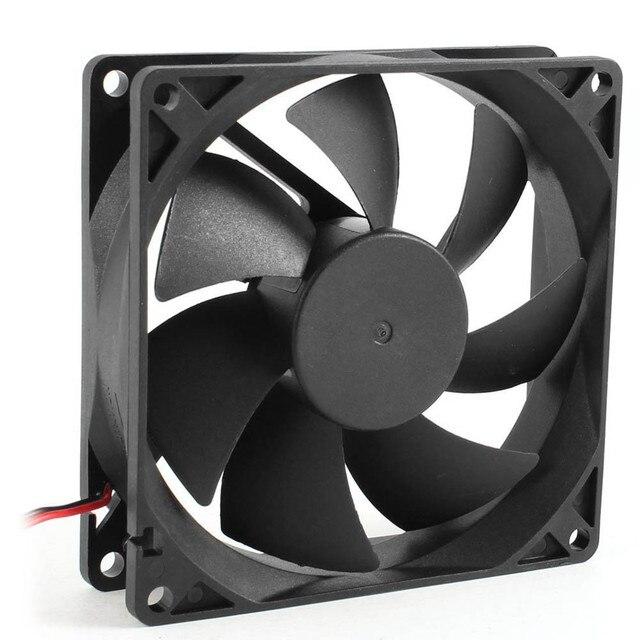 2017 cichy 8 cm/80mm/80x80x25mm 12V komputer/PC/CPU cichy wentylator chłodzący do obudowy JU22