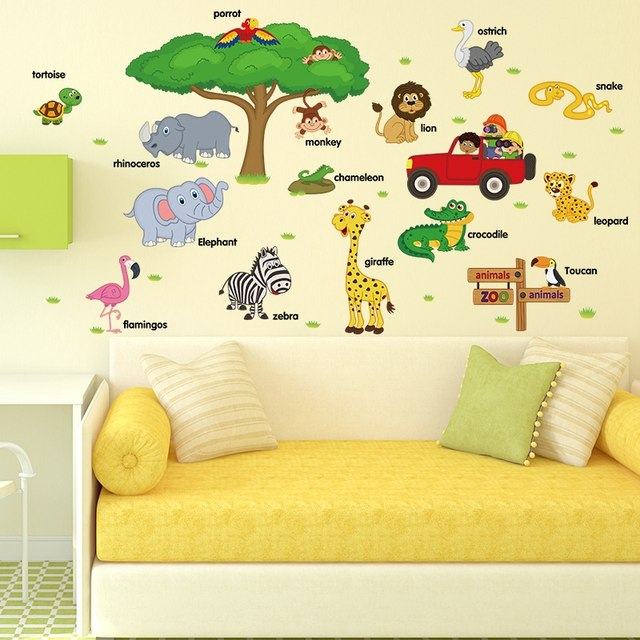 Perfect Kindergarten Wall Decoration Ideas Embellishment - Wall Art ...