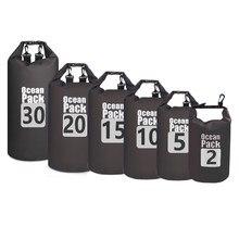 5L/10L/15L/20L wodoodporne torby do przechowywania wodoodporna sakwa torba na kajak kajak Rafting odkryty Sport torby do pływania zestaw podróżny plecak