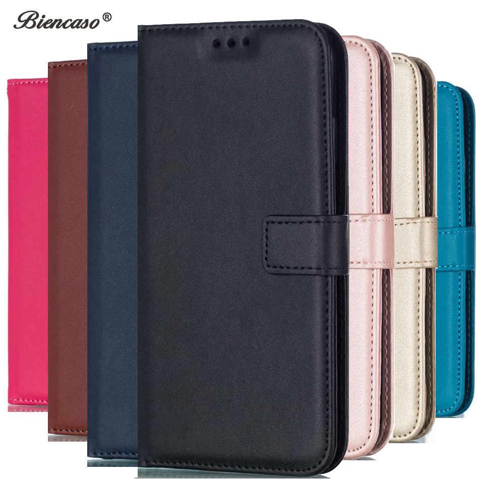 Leather Flip Wallet Case For Sony Xperia Z3 Z4 Z5 Mini M4 M2 M5 E5 E6 XZ XZ1 Compact XA XA2 C6 L1 L2 Phone Bag Cover Coque B300