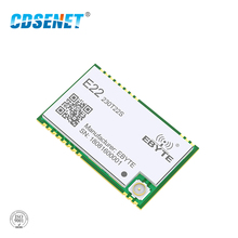 SX1262 UART 22dBm 230MHz Wireless Transceiver E22-230T22S LoRa Net Working RSSI  SMD IPEX Stamp Hole TCXO RF Module
