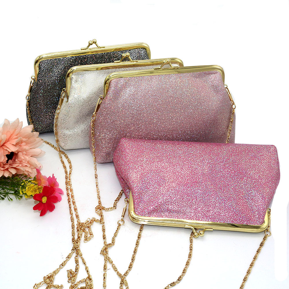 1e25420480c6 Fashion Elegant Women Clutch Bag Lady Shining Sparkling Small Wallet Hasp  Purse Evening Bags Juy6-in Clutches from Luggage   Bags on Aliexpress.com  ...