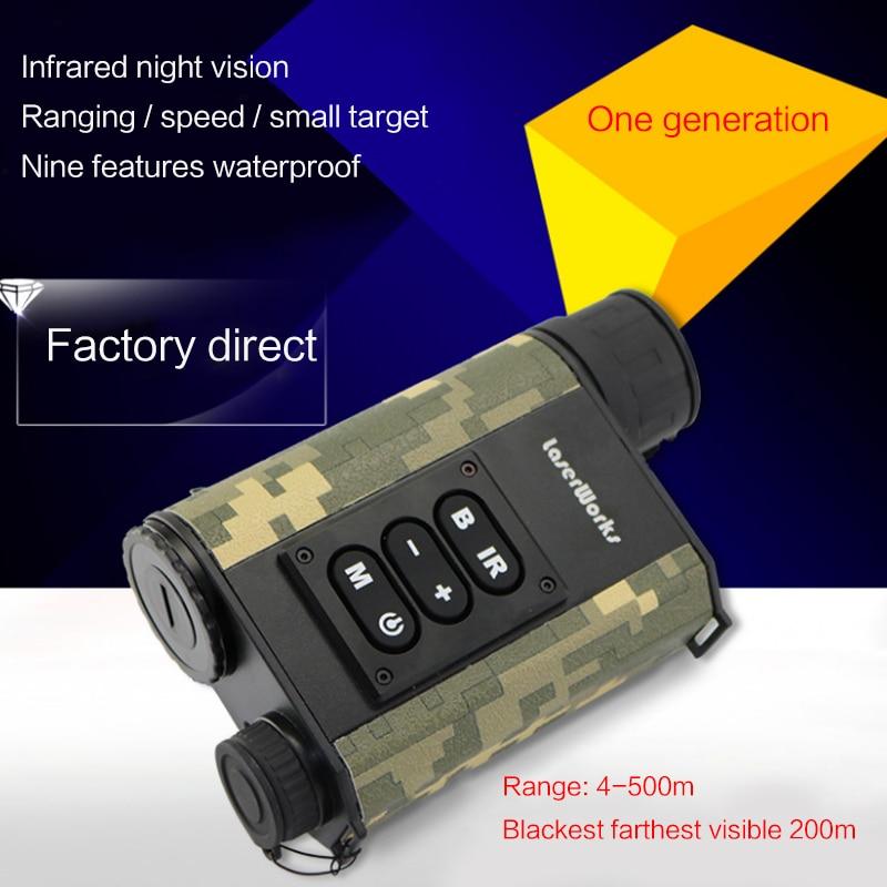 New LETER 500 meters laser rangefinder night vision LRNV009 infrared night visionNew LETER 500 meters laser rangefinder night vision LRNV009 infrared night vision