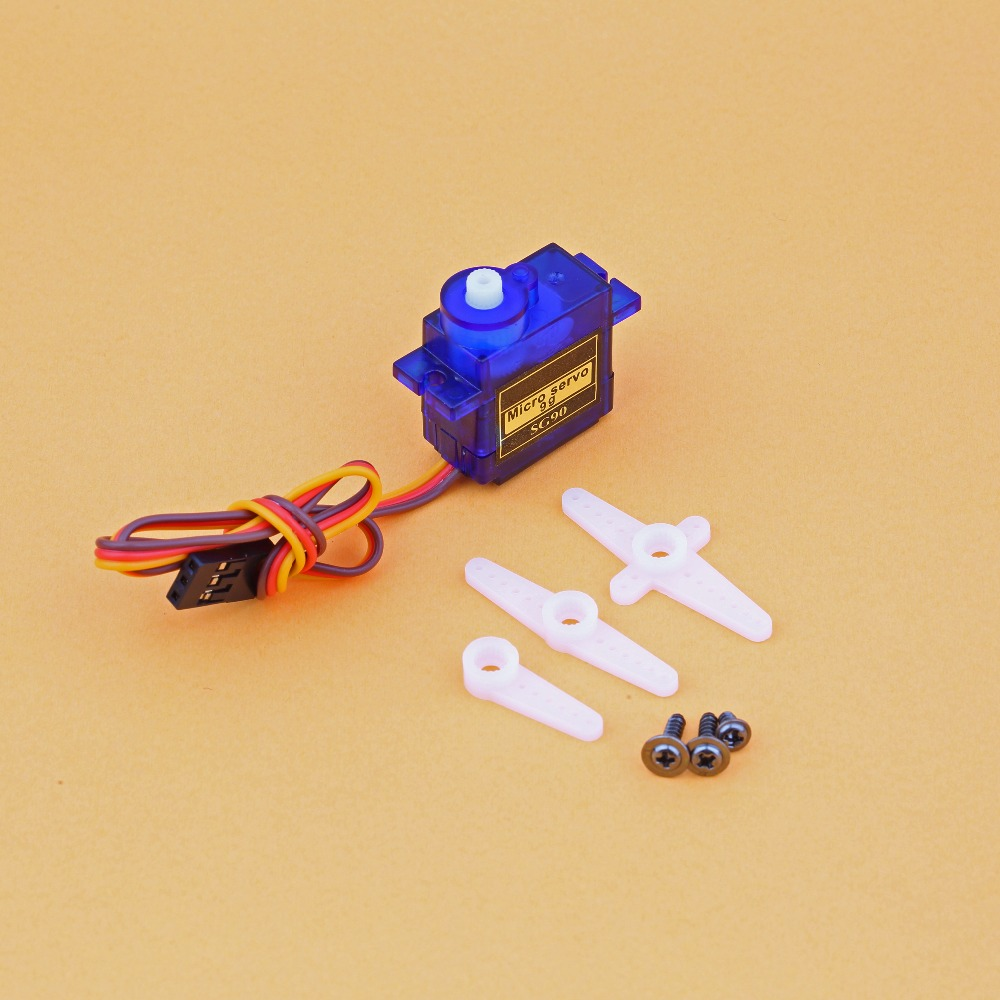 5/10pcs/lot 100% New Wholesale Sg90 9g Micro Servo Motor For Robot 6ch Rc Helicopter Airplane Controls For Arduino #6