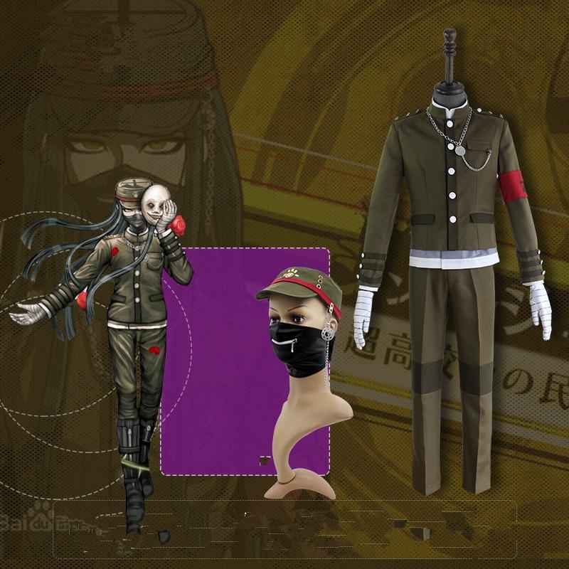 Danganronpa V3 Korekiyo Shinguji Cosplay Kostume Ensartet Halloween - Kostumer - Foto 5