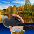 New Arrival Universal 10x40 Hiking Concert Camera Lens  Zoom Smartphone Telescope Camera Lens Phone Holder For Phone