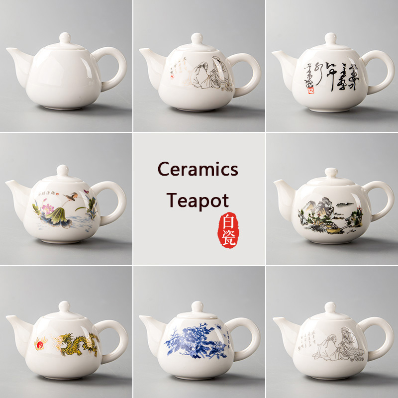 Çin Seramik Çay kuboku Farfor Çay, çay qəhvəyi B027 filtrli - Mətbəx, yemək otağı və barı - Fotoqrafiya 4