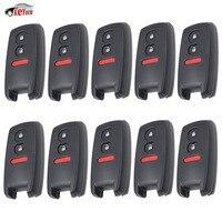 KEYECU 10 Pcs/lot Keyless Remote Car Key Shell Case Fob 2+1 Button for Suzuki SX4 Grand Vitara Swift