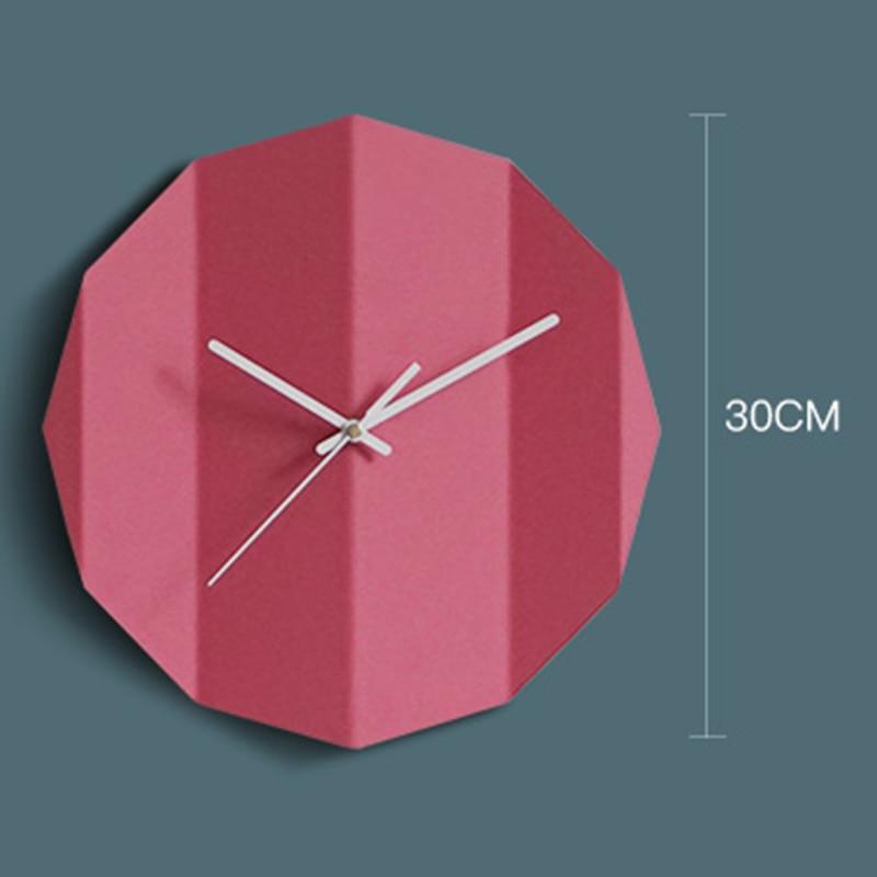 종이 접기 디자인 콘크리트 시계 실리콘 몰드 거실 장식 시멘트 시계 금형 침실 벽 석고 시계 실리콘 몰드-에서점토 몰드부터 홈 & 가든 의  그룹 3