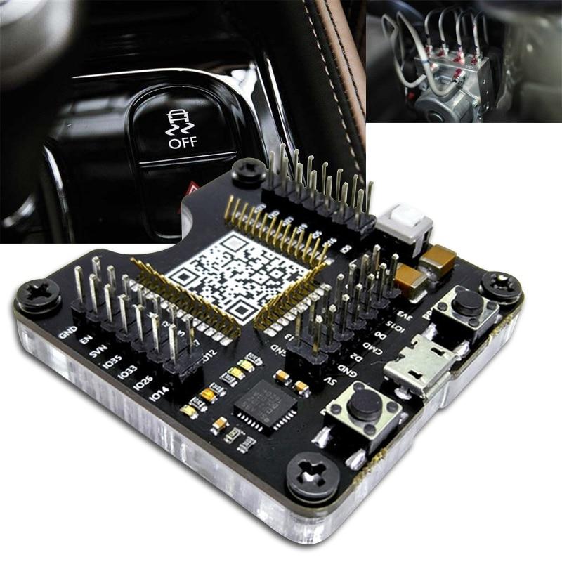 ESP32 Test Board Small Batch Burn Fixture Min System Develop Board ESP-WROOM-32