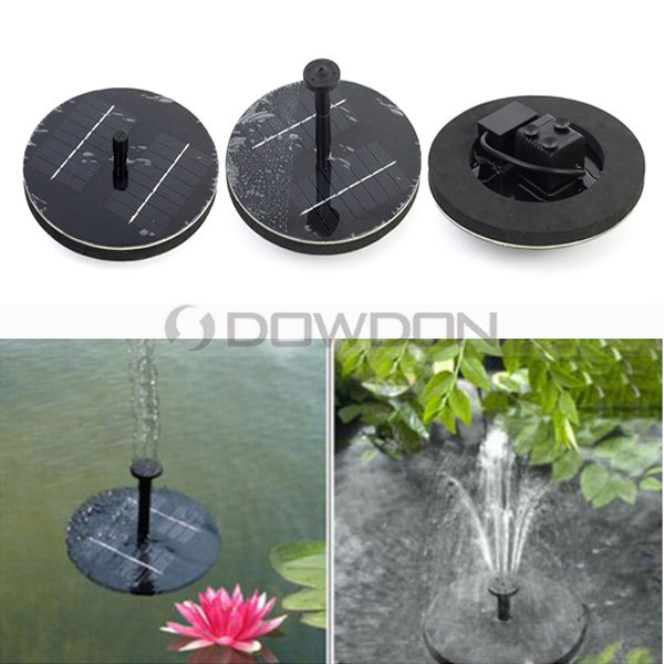 Solar Power Fountain Brushless Water Floating Pump Plant Watering Kit For  Bird Bath Garden Fountain Pond