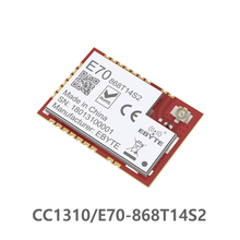 E70 868T14S2 CC1310 868MHz اللاسلكية المنفذ التسلسلي 868M وحدة تحكم الذراع SoC Cortex M3 868MHz نقل تتفاعل