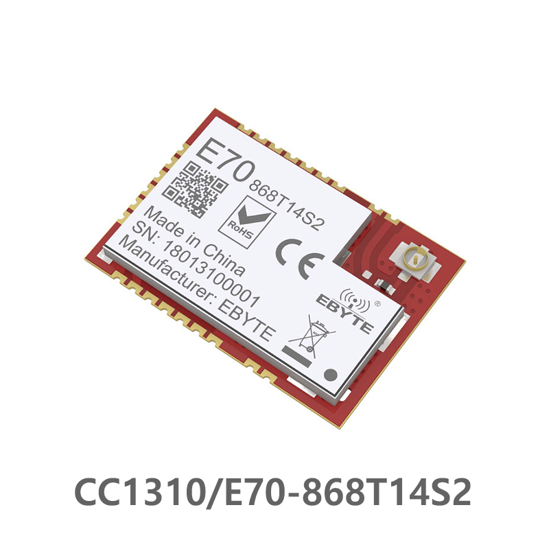E70 868T14S2 CC1310 868MHz Wireless Serial Port 868M Module ARM Controller SoC Cortex M3 868MHz Transmit RFID-in Fixed Wireless Terminals from Cellphones & Telecommunications