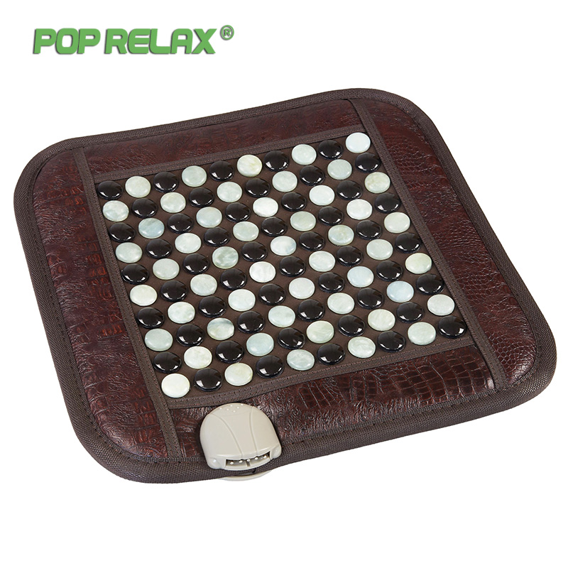 Pop Relax Healthy Mattress Tourmaline Jade Germanium Ion Far Infrared Heating Therapy Stone Massage Mat Thermal Sitting Mattress pop relax healthy mattress tourmaline jade germanium ion far infrared heating therapy stone massage mat thermal sitting mattress