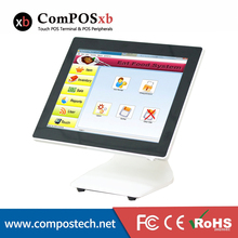 15″ Single Touch Screen Tablet POS System Windows POS Terminal POS Machine For Restaurant