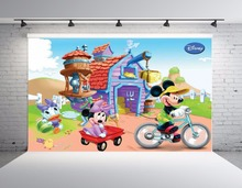 SHENGYONGBAO Vinyl Custom Photography Backdrops Cartoon theme Photo Studio Props horizontal Background SS-00039