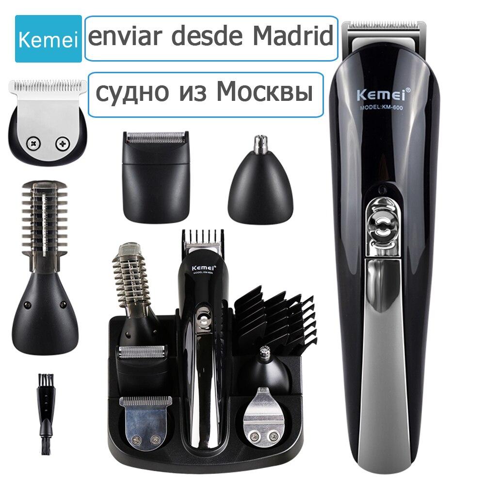Kemei 11 dans 1 Multifonction Tondeuse À Cheveux professionnel cheveux tondeuse électrique Barbe Tondeuse cheveux machine de découpe trimère tondeuse 5
