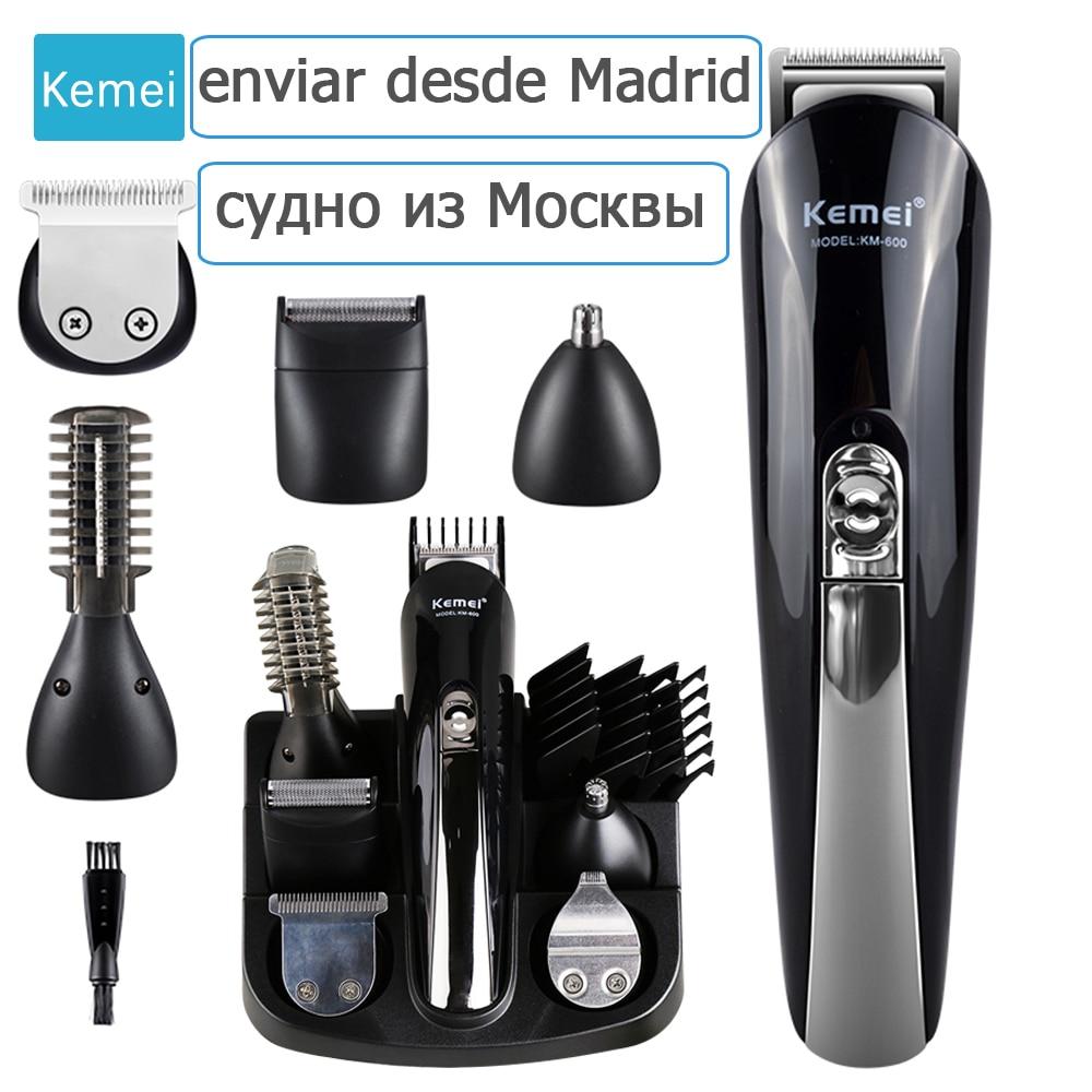 Kemei 11 in 1 Multifunzionale Dei Capelli Tagliatore Tagliatore di capelli professionale trimmer elettrico Barba Trimmer capelli macchina di taglio trimero tondeuse 5
