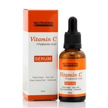Neutriherbs Natural Whitening Moisturizing 20% Vitamin C Serum with Hyaluronic Acid Serum Collagen 30ML Skin Care
