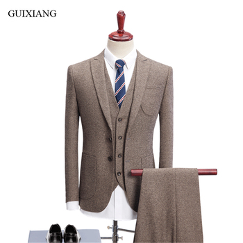 Men's high-end boutique suit new arrival style high quality business casual single breasted slim solid men blazers size S-4XL