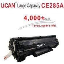 85a 285a CE285a cartucho de toner Compatible para Hp LaesrJet Pro Pro P1102 P1102w M1132mfp M1217nfw 4000 páginas de Gran Volumen de Impresión