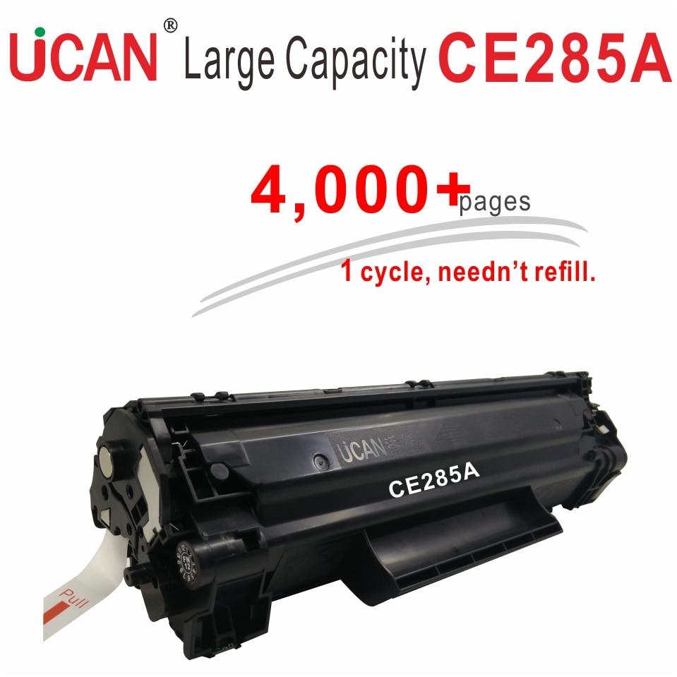 85a 285a CE285a Toner Cartridges for Hp LaserJet Pro P1102 P1102w M1132mfp M1212 M1217nfw UCAN 4000 pages Large Print Volume 12000 pages 85a ce285a toner cartridges kit compatible hp laserjet p1100 p1102 p1102w m1132 m1212 m1217 m1136 printer