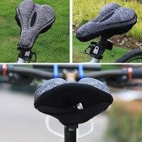 Хит продаж, мягкая велосипедная подушка для седла с эффектом памяти, велосипедная подушка, чехол для сиденья для шоссейного велосипеда, гор...
