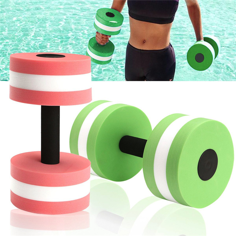 High Quality Sport Water Weight Aerobics EVA Dumbbell Meduim Aquatic Barbell Fitness Aqua Pool Exercise Training Equipment