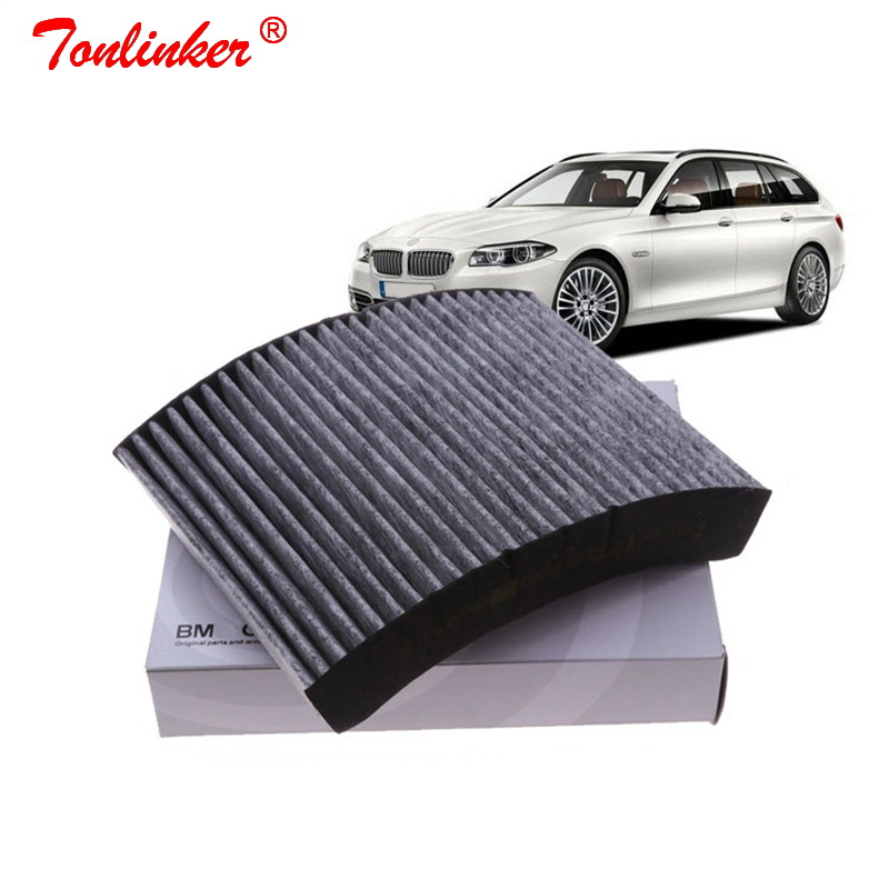 Cabin Air Filter 64119237555 1Pcs For <font><b>BMW</b></font> F20 <font><b>116i</b></font> 118i F30 F31 F34 320i 328i F32 F33 F36 420i 428i 2010-2019 Filter Accessories image