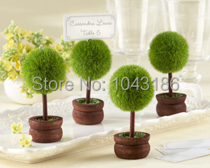 Free Shipping Topiary Photo Holder/Place Card Holder Wedding Decoration Party Ceremony Supplies