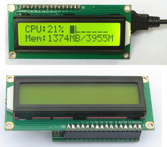 HTPC HD хост компьютер шасси информационный дисплей USB 2 ЖК дисплей Панель электронная продукция Сделай Сам suite