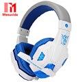 Plextone pc780 over-ear fones de ouvido fones de ouvido fones de ouvido de jogos com microfone estéreo baixo diodo emissor de luz para jogos de pc