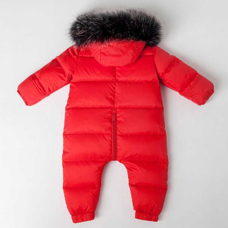 ... Детская зимняя одежда для новорожденных Зимняя одежда Комбинезоны для  маленьких детей теплый зимний комбинезон для маленьких ... 56d03b7d2f6a1