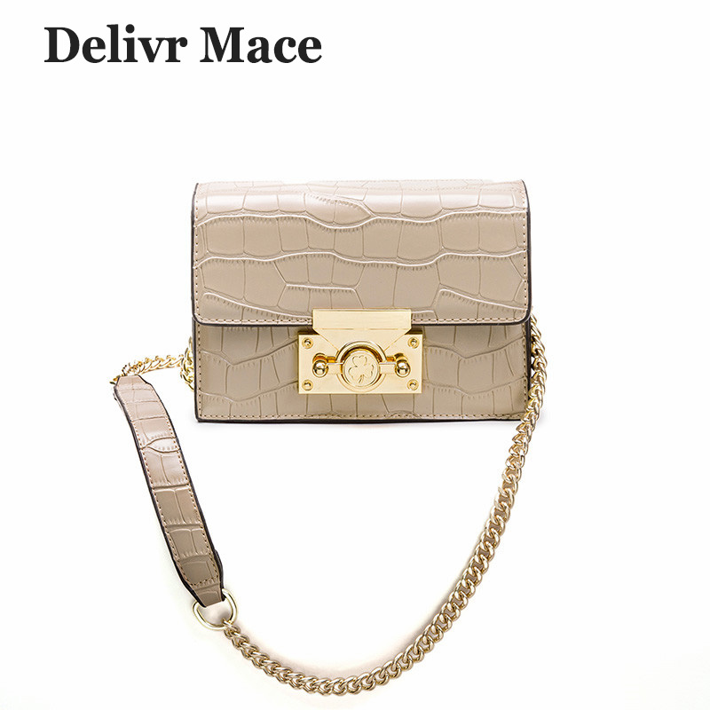 Bags For Women 2018 Famous Brand Summer Small Stone Flap Chain Crossbody Bag Female Shoulder Bags Women Casual Messenger Bags