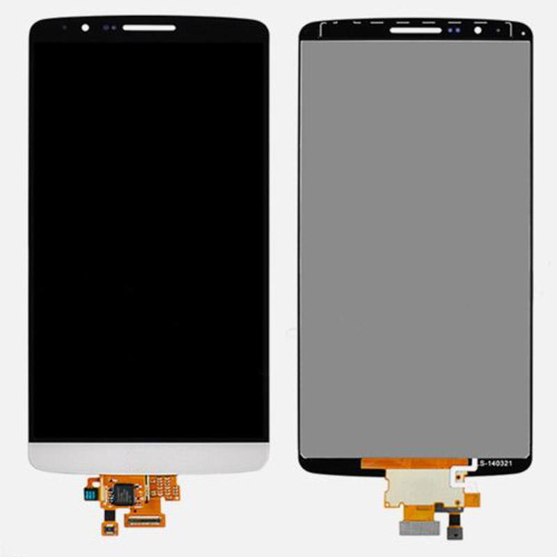 LCD Display Touch Screen Digitizer Glass Assembly For LG G3 D850 D851 D855 VS985 LS990 White