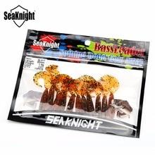 SeaKnight Soft Lure SL017 Maggot Worm 1.9g 65mm 10PCS Soft Fishing Lure Single Tail Worm Maggot Soft Bait Carp Fishing 8 Colors