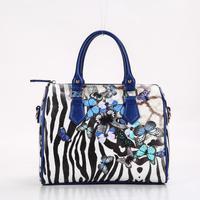 Beivah Marca digital print zebra farfalla donne rivestono di pelle borse donna borse messenger borsa delle donne sacchetto femminile di alta qualità