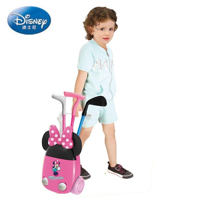 Jeu de balle de Golf Mickey Minnie Sports de plein air Disney intérieur et extérieur jouets de Golf de Fitness pour les enfants