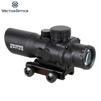 Vector Optics Talos 4x 32mm Tactical Shooting AR15 M4 Compact Sight Prism Rifle Scope