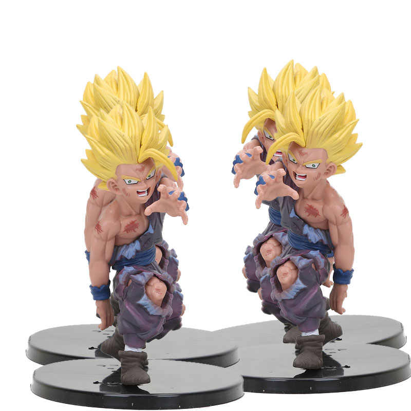 Dragon Ball Z Super Saiyan Goku Son Gohan figura chichi lazuli Estatueta dragonball trunks vegeta freeza figura phone Straps Brinquedos