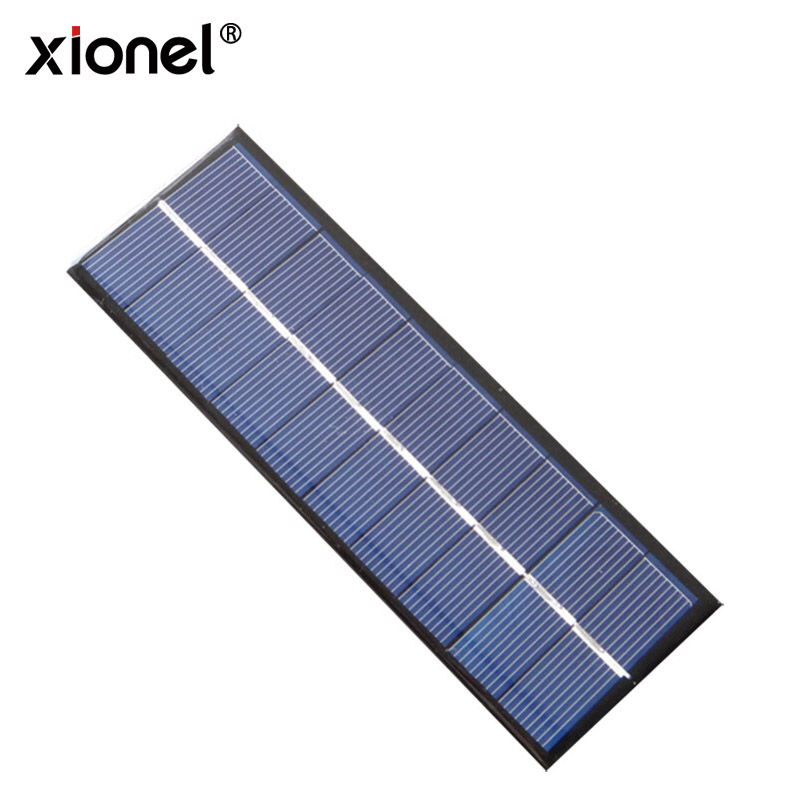 Xionel Cheap Mini Solar Panel 1.3W 5V 260mA 163*60*3MM Small Solar Panel Customization for Solar Application Product