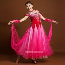 Flamenco Dance Dress Women Sexy Open Back Ballroom Competition Dance Dresses Lady Waltz Tango Modren Ballroom Costume
