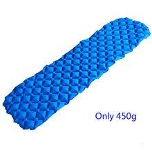 Portable Inflatable TPU Air Sleeping Pad Mat Mattress Cushion for Outdoor Camping Hiking Backpacking Travel