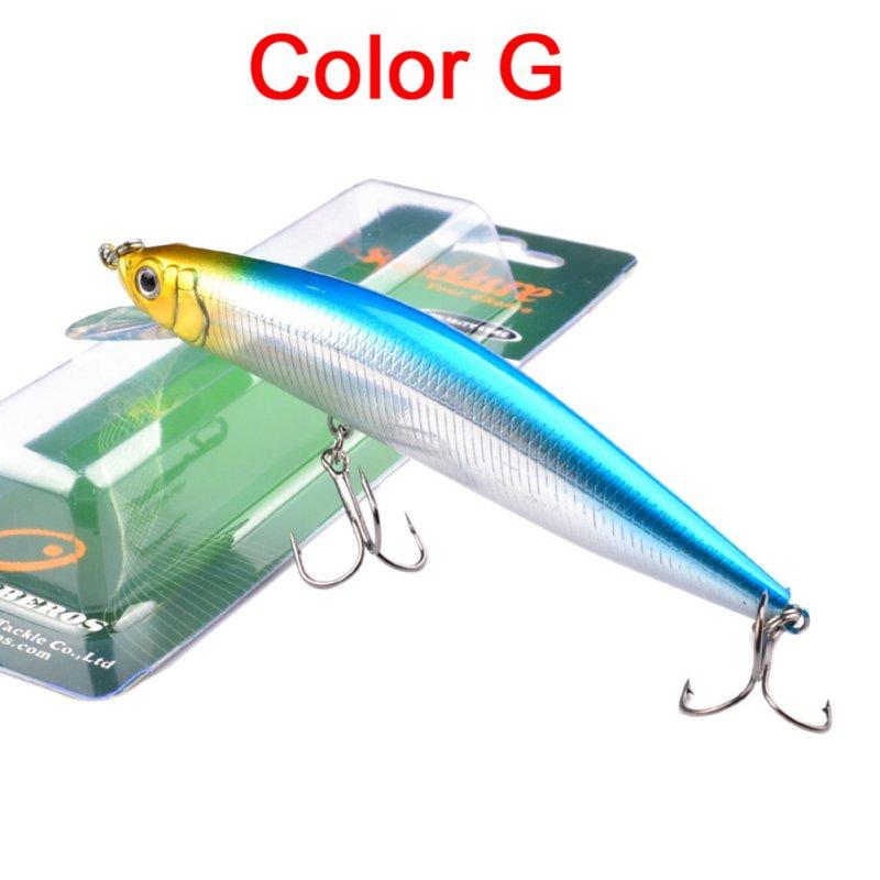 """1pc zvejas lure eksportē uz Japānu Makšķerēšanas ēsma 5,3 """"-13.5cm / 24g-0.85oz 6 krāsu makšķerēšanas piederumi 2 # āķis"""
