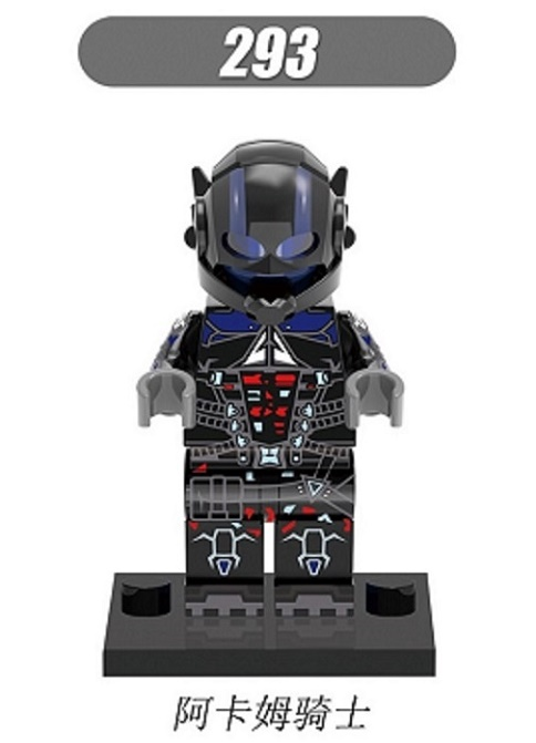 Kleurplaten Robot Boy.20pcs Xh 296 Super Heroes Bane Arkham Knight Cosmic Boy Bricks