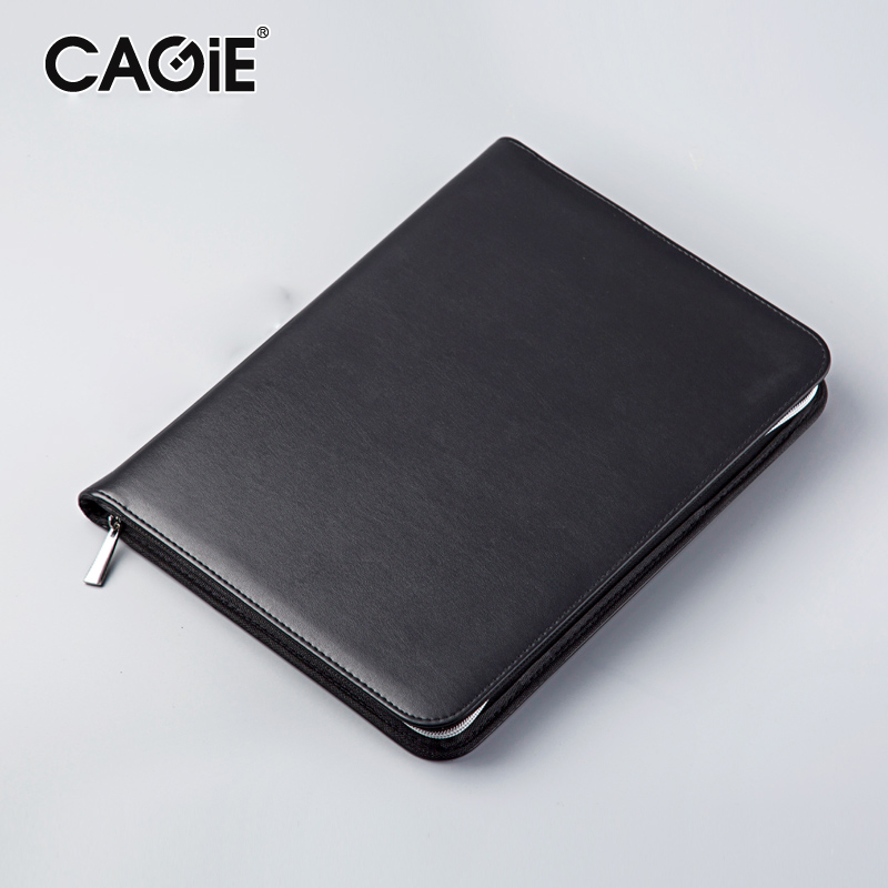 CAGIE Key Holder A4 File Zipper Folder Multifunction Real Estate Company Office Manager Folder Business Padfolio Bag gary eldred w investing in real estate