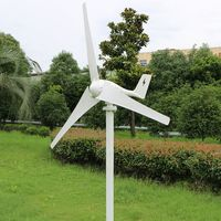 March sales promotion 400W AC wind generator for street lamp, low rpm. CE certification, come with MPPT charge controller